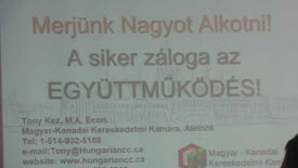 Networking between Canada and Hungary